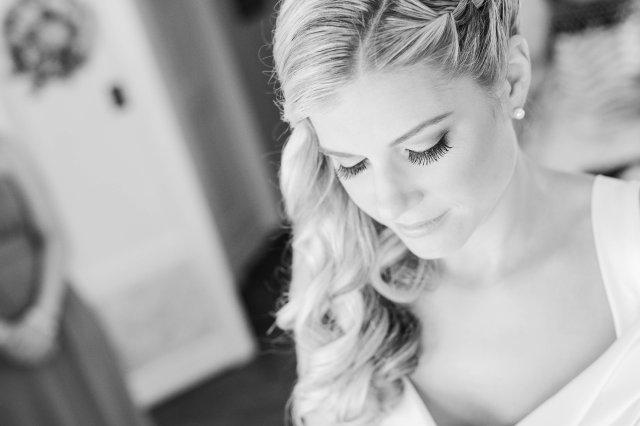 Bridal hair and makeup for Harding Allen Estate wedding