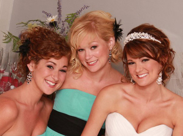 Chelsea and Bridesmaids – Bridal Makeup - Makeup Artistry After Photo
