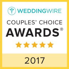 WeddingWire 2017 Couples' Choice Award