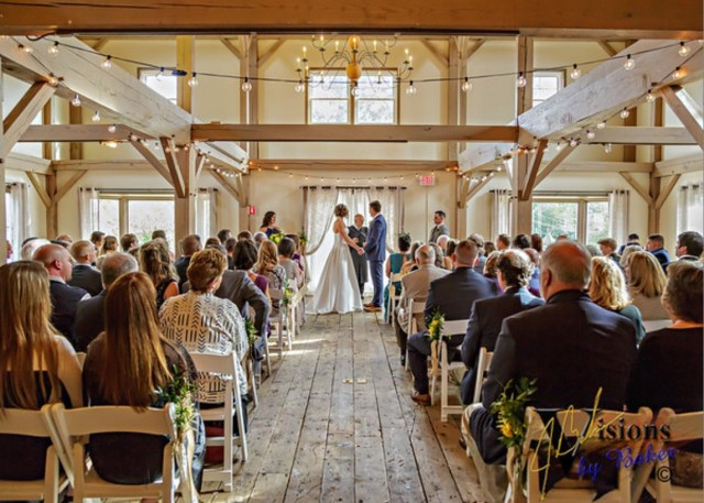 Bridal hair and makeup for Ellie's Barn at Wight Farm wedding