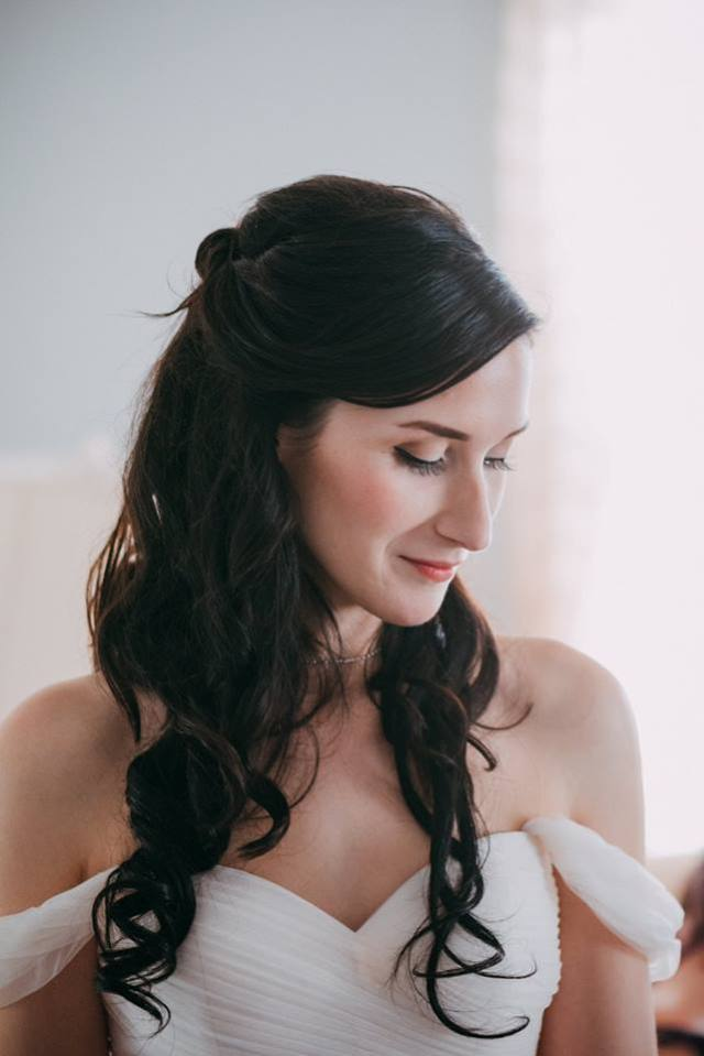 Wedding makeup by Betsy Mitchell for Christy & Co.