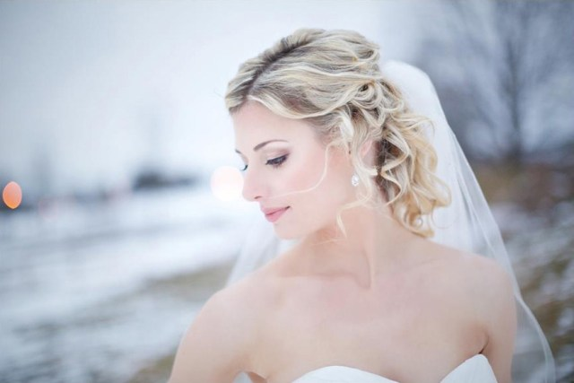 Romantic bridal makeup by Christy Lavallee