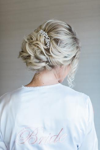 Bridal Hair Design On Location Wedding Hair Styles