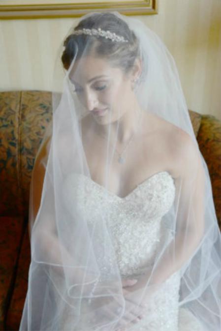 Wedding makeup by Veronica
