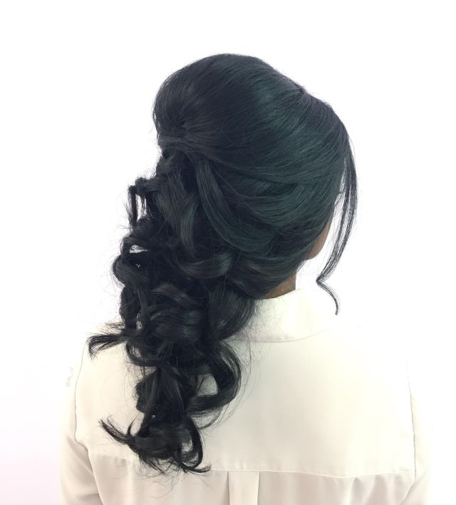 Bridal Hair Design Wedding Updo by Chelsea for Christy & Co.