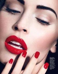 Makeup Inspiration: Dark, Red & Nude Lips. And Beauty ...