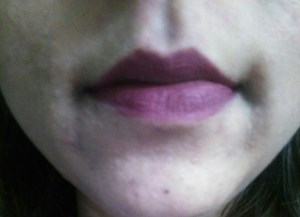 Nyx Full Throttle Lipstick in Shade Locked (With Lights)