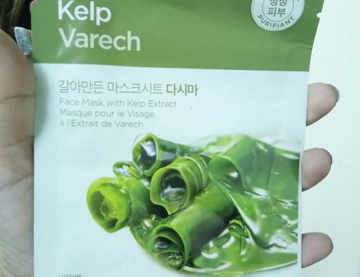 The Face Shop Real Nature Kelp Varech Face Mask