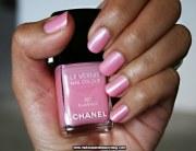 chanel flamingo nail colour