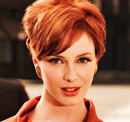 Christina Hendricks como Joan em Mad Men