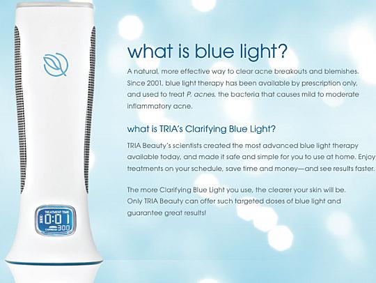 Tria Acne Blue Light Reviews Www Lightneasy Net