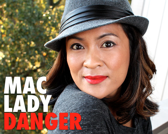 Mac Lady Danger Lipstick 3