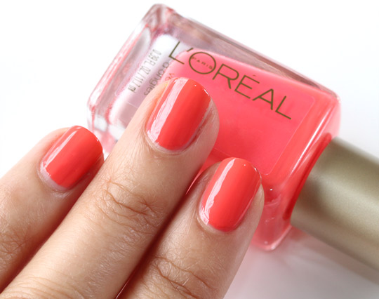 L 39 Oreal Paris Color Riche Nails Rose Bagatelle 205 Image 2