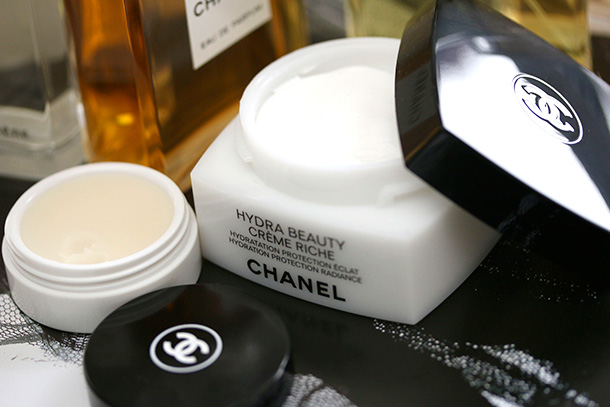 New Skincare From Chanel Hydra Beauty Creme Riche and