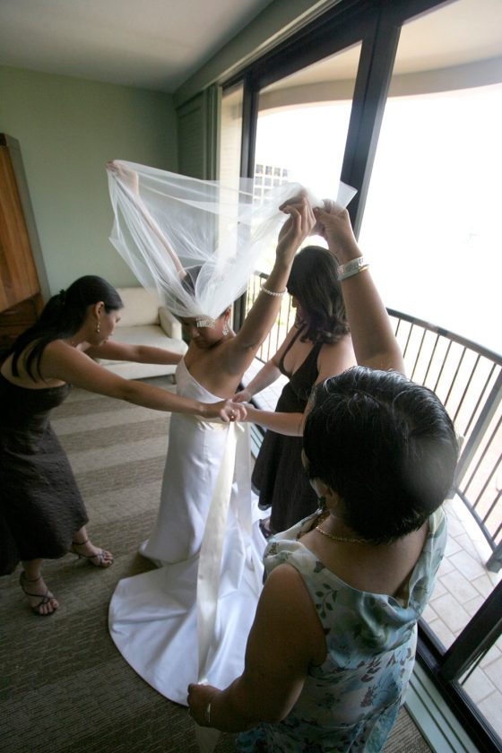 Getting ready with the ladies in my life
