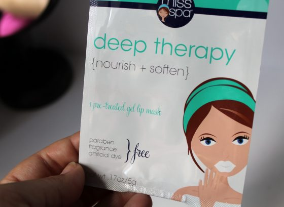 The Miss Spa Deep Recovery Pre-Treated Gel Lip Mask