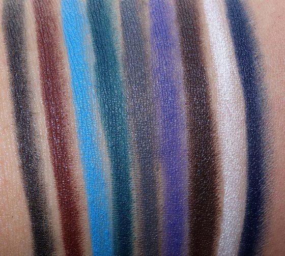 nars fall 2016 swatches eyeshadows velvet eyeliner