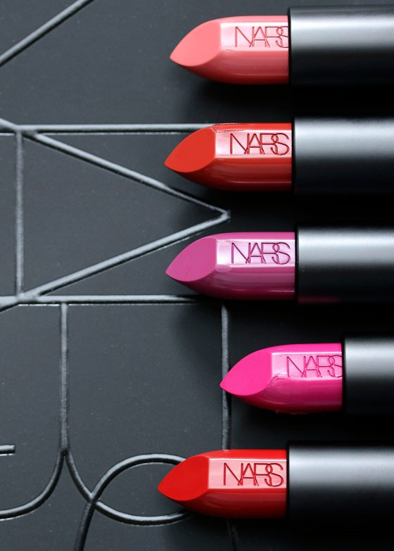 nars audacious collection lipsticks