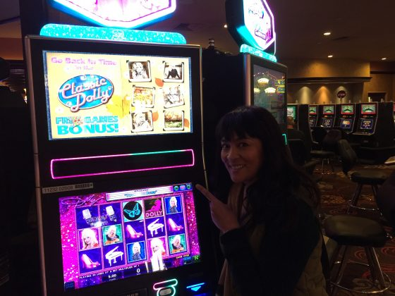 Raddest slot machine ever!
