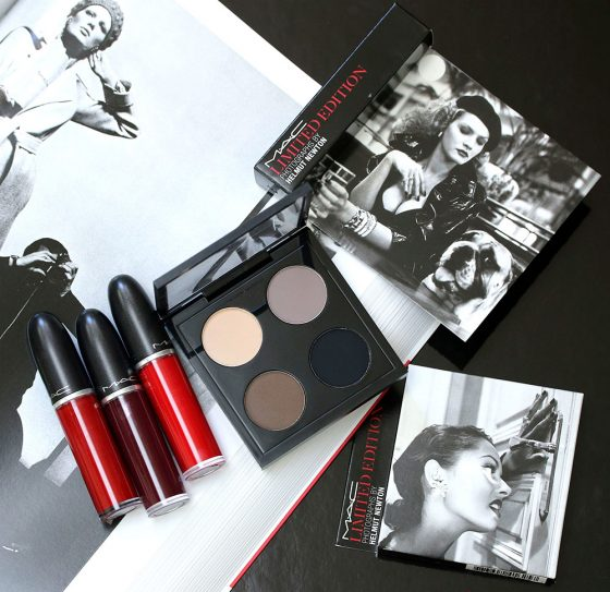 mac limited edition photographs helmut newton