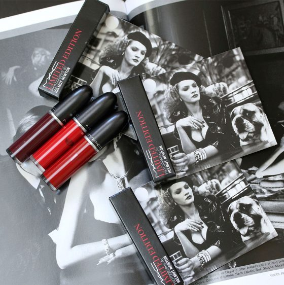 mac limited edition photographs helmut newton retro matte liquid lipcolour