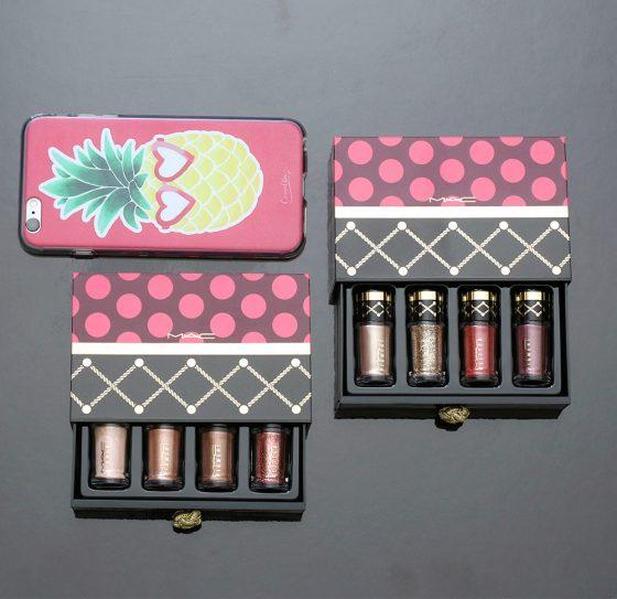 mac nutcracker sweet pigment glitter sets