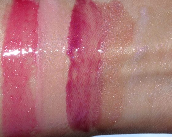 buxom freezes over full on lip polish swatches