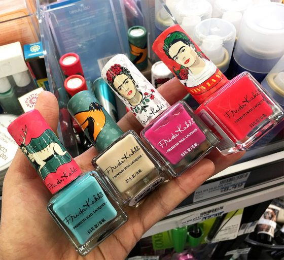 frida kahlo nail polishes