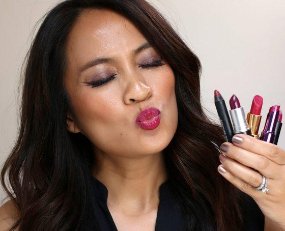 k with lipsticks