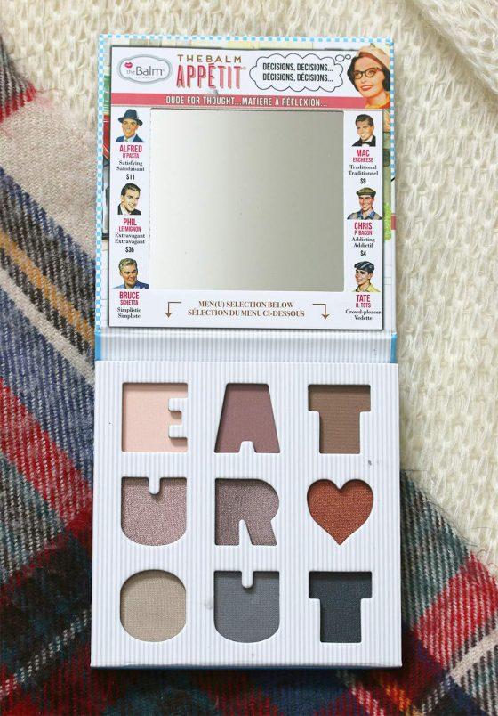 thebalm appetit eyeshadow palette