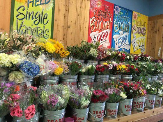 trader joes flowers