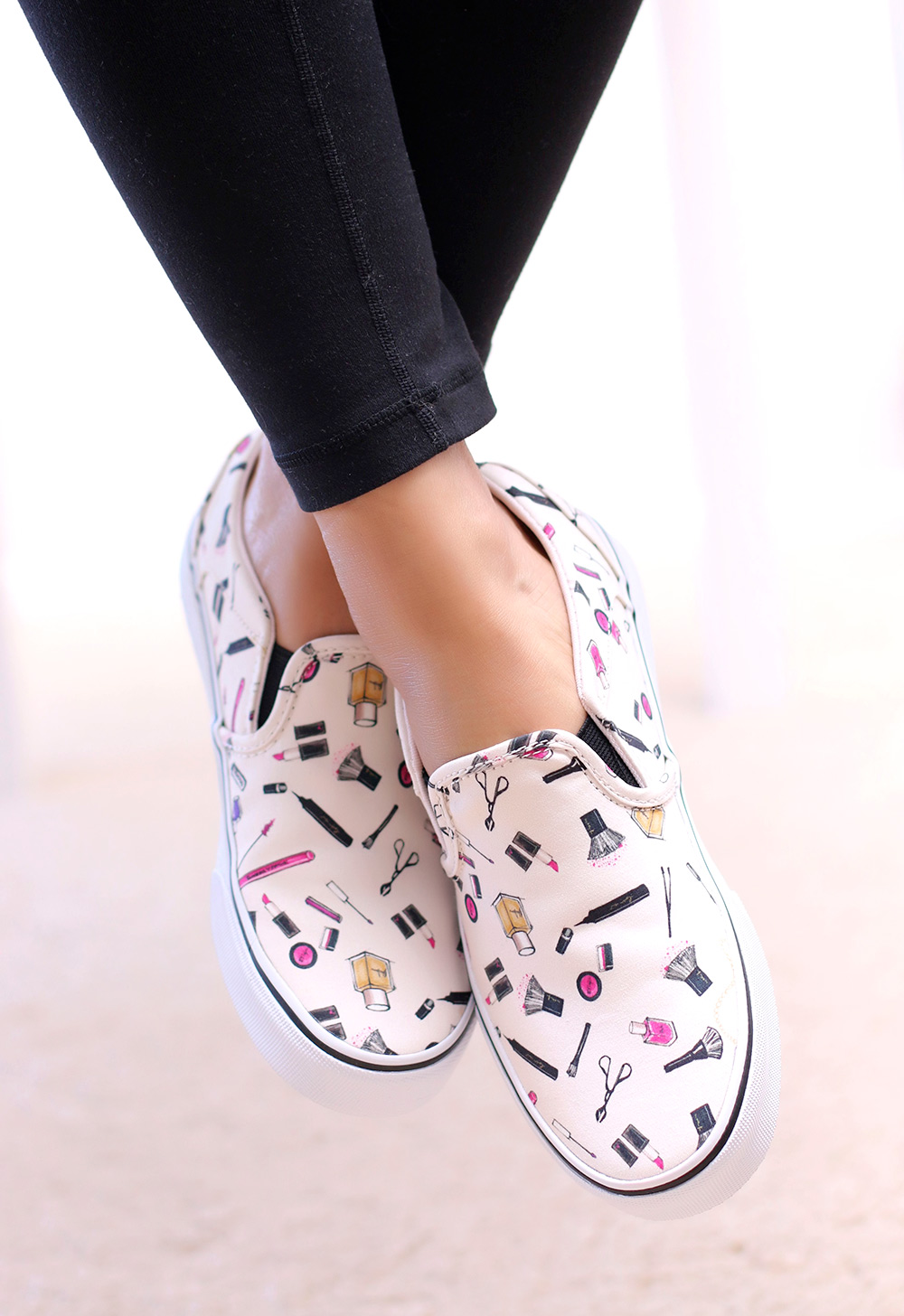 I Found My Dream Shoes The Vans Asher Printed Slip On