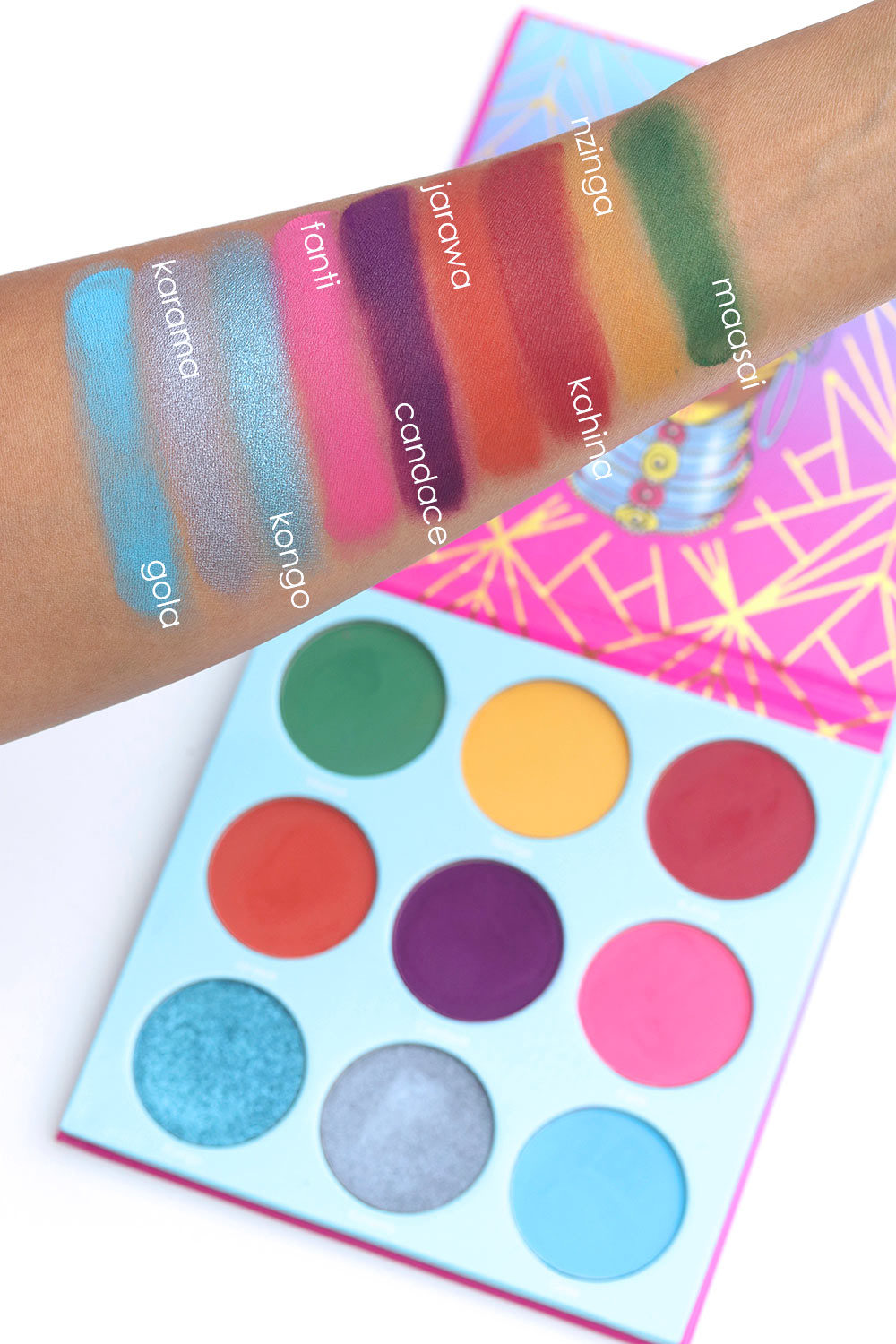 Juvia's place warrior 3 swatches