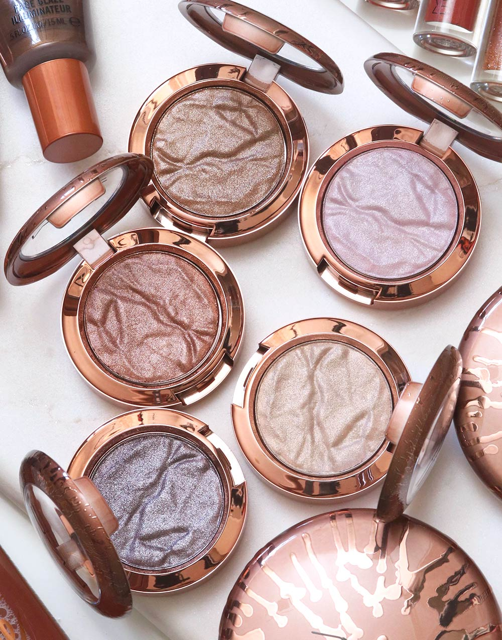 mac bronzer collection summer 2020 foiled shadow