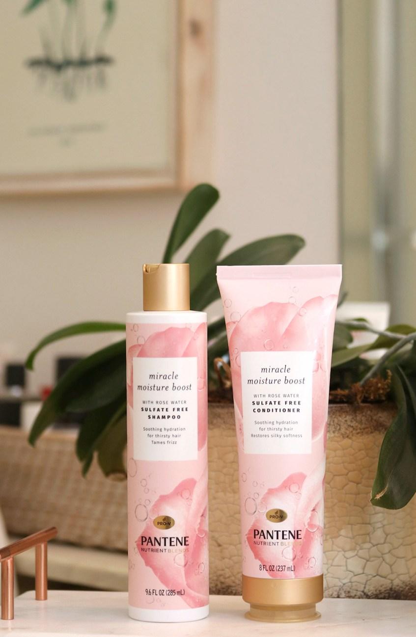 pantene miracle moisture boost rose water