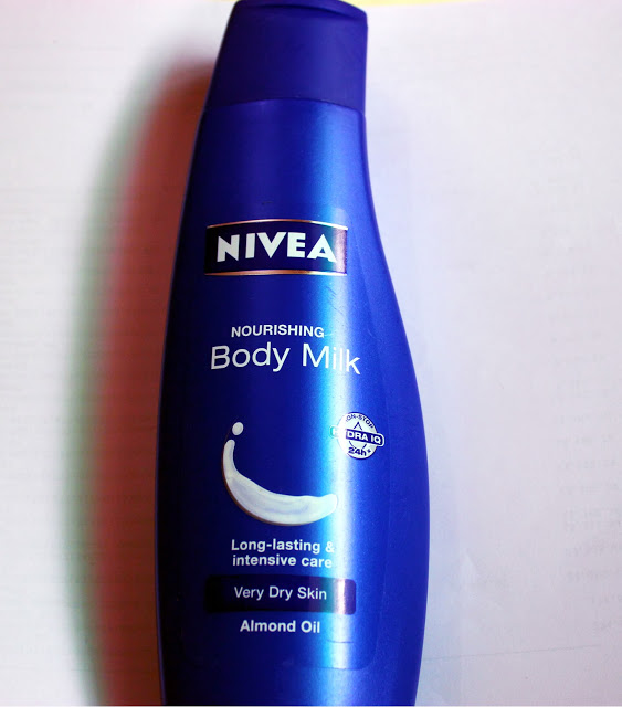 Nivea Nourishing Body Milk Very Dry Skin Review