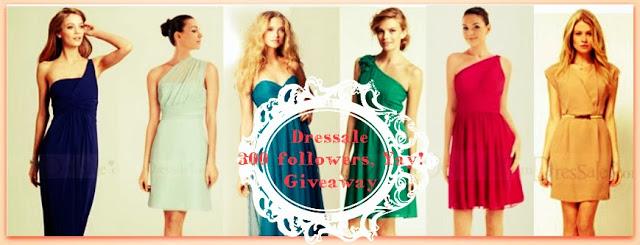 300+ Followers Dressale Giveaway