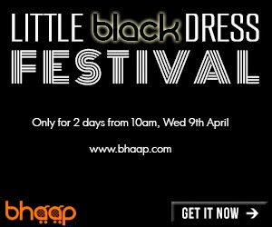PR: LBD (Little Black Dress) sale on 9th April 14 on bhaap.com