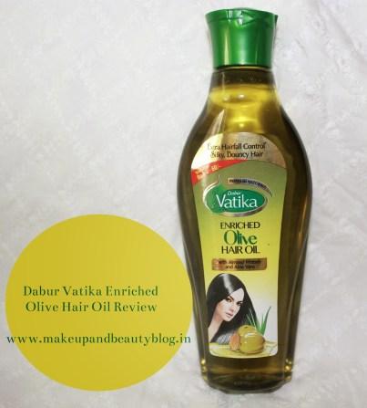 Dabur Vatika Enriched Olive Hair Oil Review