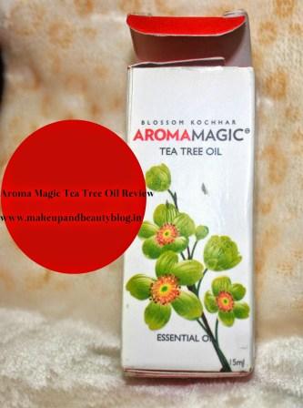 Aroma Magic Tea Tree Oil Review