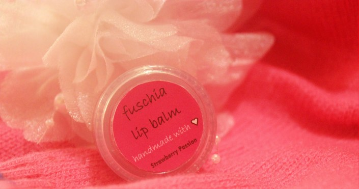Fuschia Strawberry Passion Lip Balm Review and LOTD