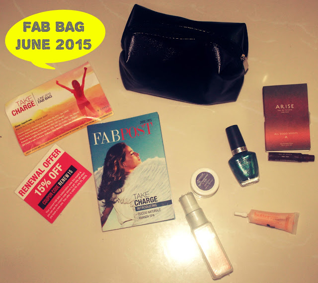 Sneak Peak: FAB BAG June 2015