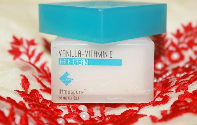 The Nature's Co Vanilla Vitamin E Face Cream Review