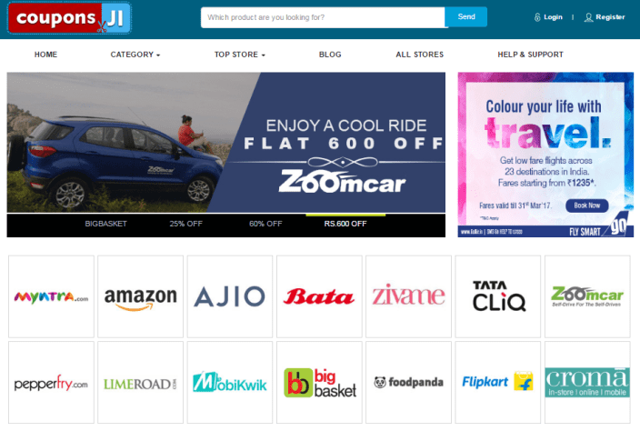 Couponsji Review – Online Couponing Site