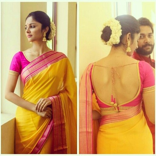 How Can Wearing A Designer Saree Make You Look Special Makeup Review And Beauty Blog