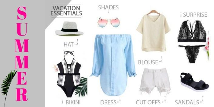 Summer Vacation Essentials Wishlist Ft. Rosegal