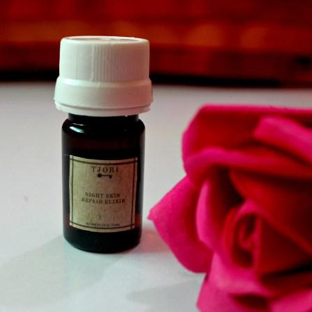 TJORI Night Skin Repair Elixir Review