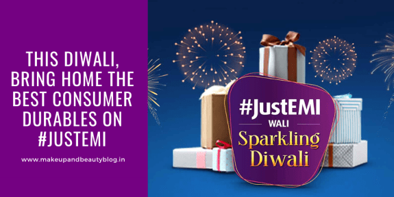 This Diwali, bring home the best Consumer Durables on #JustEMI