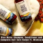 Fermented Rice Water Shampoo, Conditioner and Oil Review | Complete Hair Care Range Ft. Wishcare