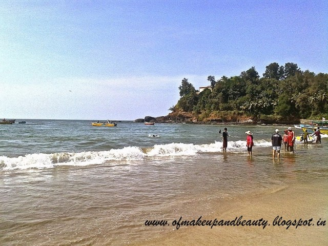 Holiday in Goa India Candolim and Baga Beach Goa
